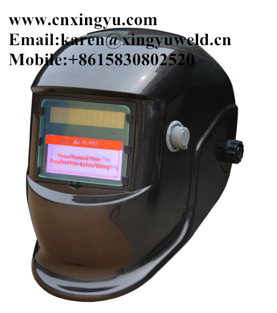 hot sale USA and Euro market tig welding solar auto darkening helmet