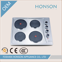 4 burner stainless steel electric hotplate gas stove,gas hob,cook stove HS4508E4