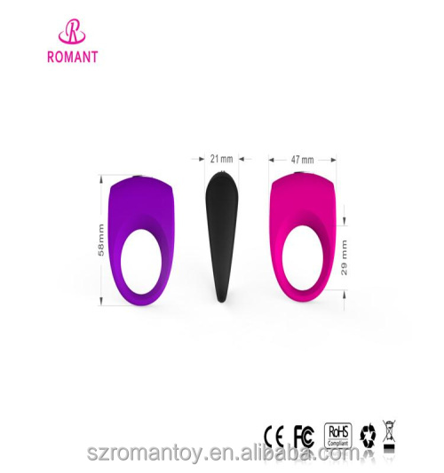 Full Silicone Boys Sex Toys Wholesale Vibrator Penis Silicone Cock Ring For Enhence Sex