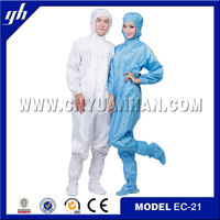 Laboratory Antistatic Protective Clothing Dust-proof Clothing