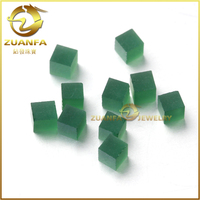 unpolish gemstone emerald unpolished cz gemstone