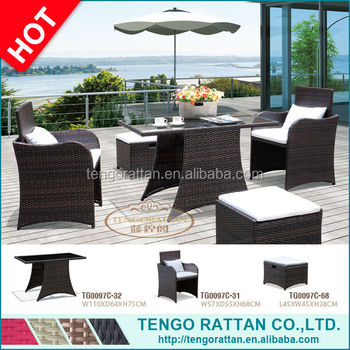 outdoor PE rattan furniture garden weaving sofa chair(TG0097C)