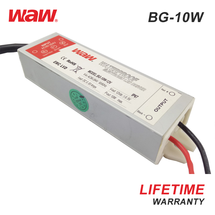 WODE Constant Current Led Power Supply 12V 2A Emergency Driver 10W