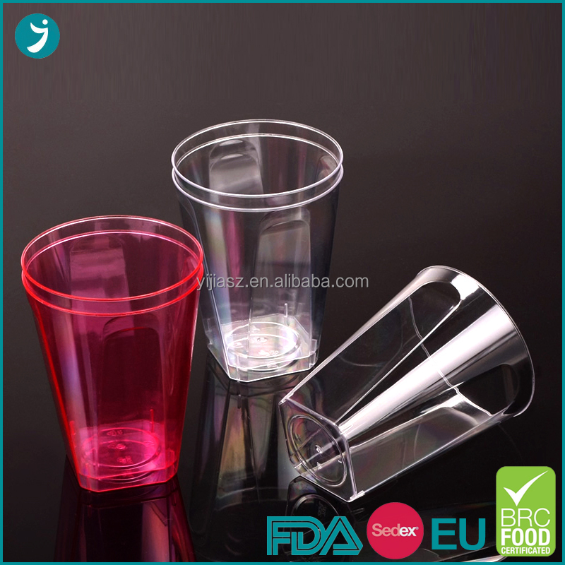 Effect assurance opt 10oz 7 oz plastic disposable cups in factory