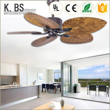 Hotel Project Remote Control Led Chandelier Decorative Ceiling Fans With Light And Remote