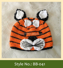 2015 new style baby tigger animal crochet pattern hat
