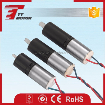 China TT Motor of 6mm dc planetary gear motor