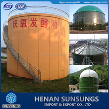 Waste treatment application biogas anaerobic digester for industry