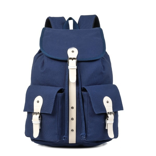 Canvas Backpack For High School Students