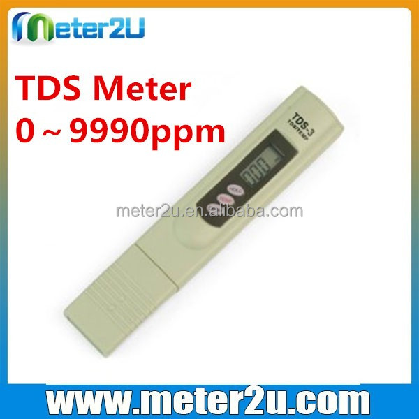 Portable ph sensor TDS salinity meter conductivity meter price TDS-3