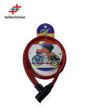 Yiwu No.1 Agent BICYCLE ACCESSORIES BICYCLE CABLE LOCK 80CM $1.0