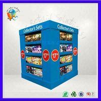Customize point of sale display stand good quality cardboard display unit