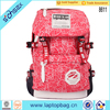 2016 Chinese canvas new fashion backpack bags for high school girls