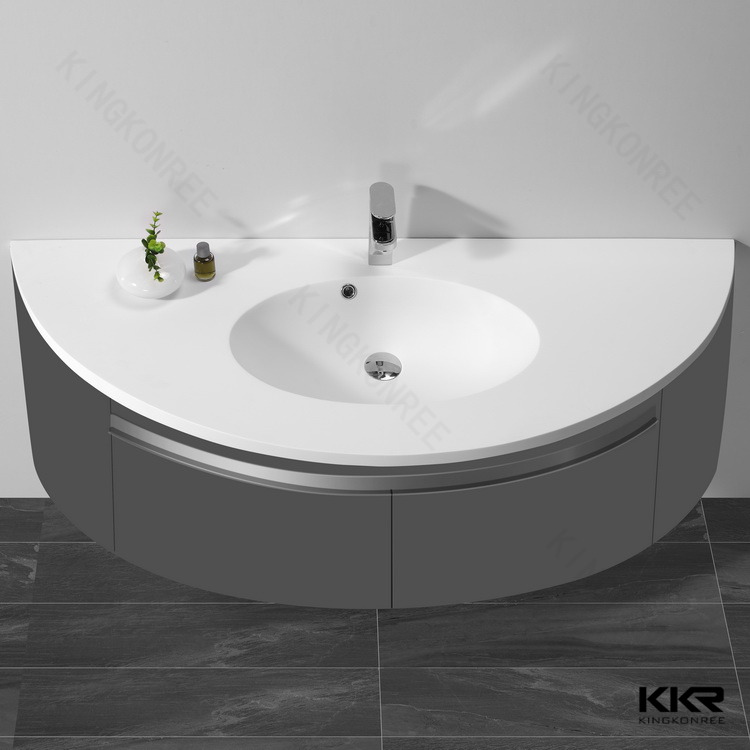 Artificial stone bath basins, molded bathroom sinks and counters