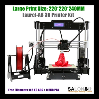 Industrial 3d printer with large printing size 510*400*415MM DIY 3D Printer for Leather and Textile