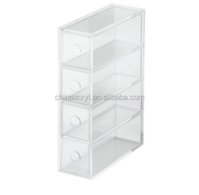 Finely Processed Acrylic Jewelry Box Jewelry Display Case For Sale