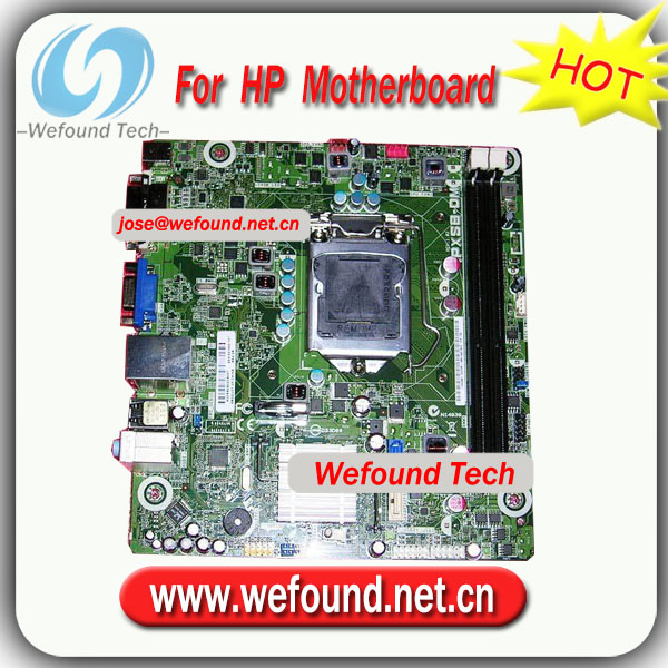 100% Working Desktop Mainboard for HP 661846-001 for IPXSB-DM Cork motherboard socket 1155 chipset H61