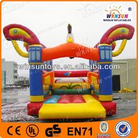 trendy funny inflatable jumper/bouncy castle/bouncy house/slide