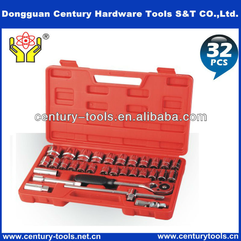 High quality precision 32 pcs socket wrench set