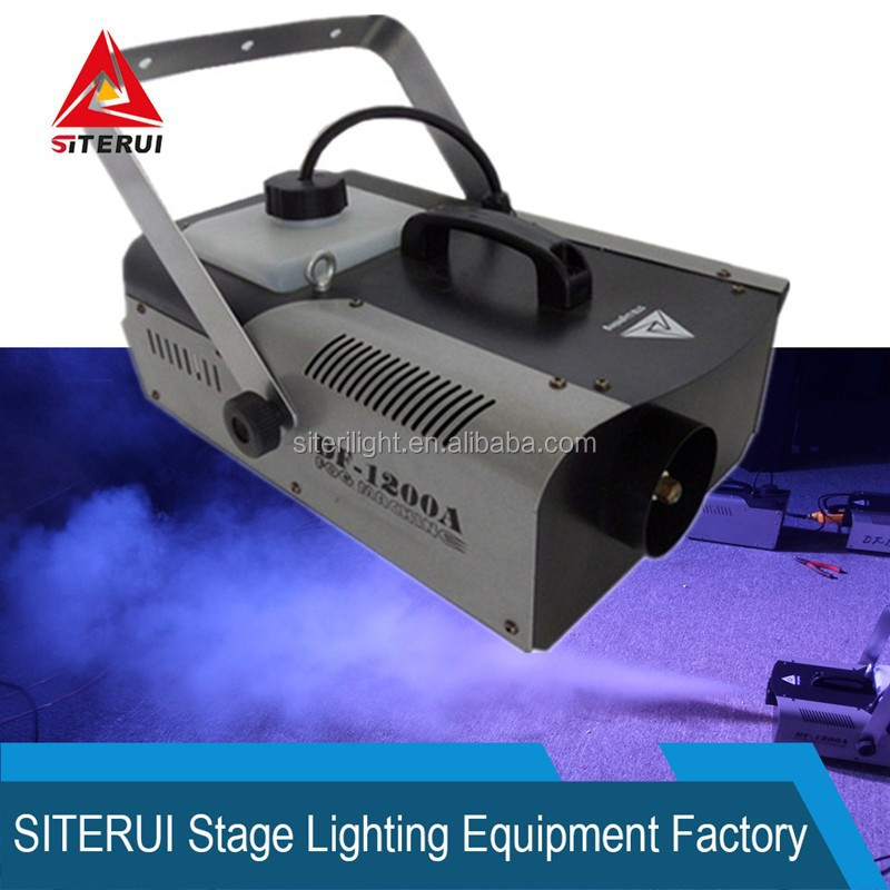 Dj/disco/stage lighting fog machine 1200w stage effect smoke machine