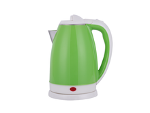 Double shell plastic kettle 360degree rotation cordless electric kettle