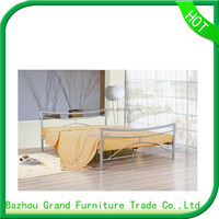 Modern Appearance and Queen Size Double Metal Bed Frame Design