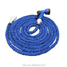 Flexible Expandable Garden Hose,50FT Garden Water Pipe, High Quality Triple Layer Latex Retractable Collapsible Water Hose Best
