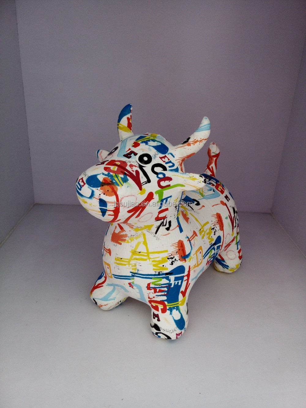 Full printing Inflatable Cow Hopper