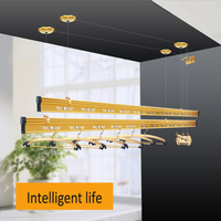 balcony semi-automatic ceiling clothes drying rack/lifting clothes hanger racks