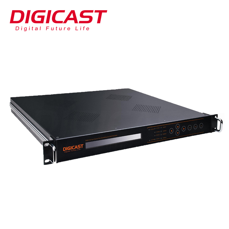 (DMB-5120) Best Selling 8 Tuner DVB-S2 To DVB-<strong>C</strong> QAM Modulator Multiplxing And Scrambling Atsc DVB-<strong>C</strong> IP QAM Modulator