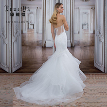 Sexy Ivory Sweetheart Alibaba Wedding Dress 2018 Lace Mermaid Bridal Gown
