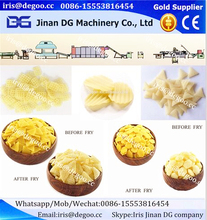Extruded fry pellets snacks food Corn wheat flour production line/making equipment/