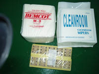 industrial wipes Nonwoven cleanroom paper 55% cellulose 45% polyester