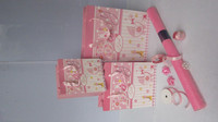 gift wrapping paper rolls/bag/ribbon/bow