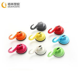PVC box gift small wall locking suction hook cup