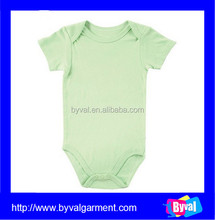 Wholesale Customized OEM Baby Product Clothes Romper Infant Plain Bamboo Onesie