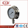 back connection high temp pressure gauge manufacturer