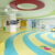 Safety artistic PVC flooring for children