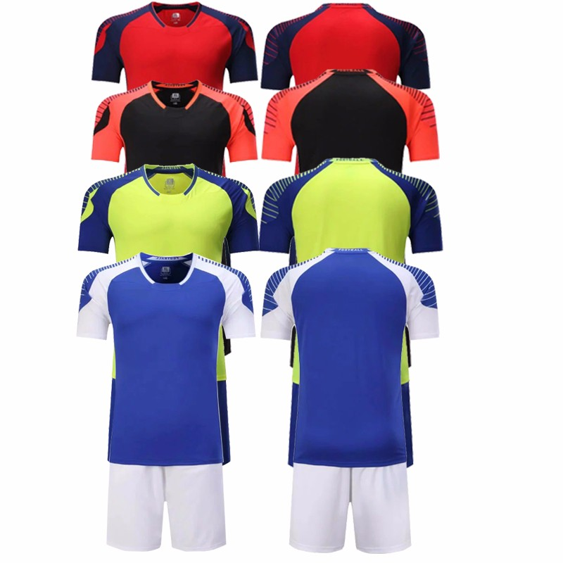 Comfortable polyester wholesale youth plain soccer jersey manufacturer