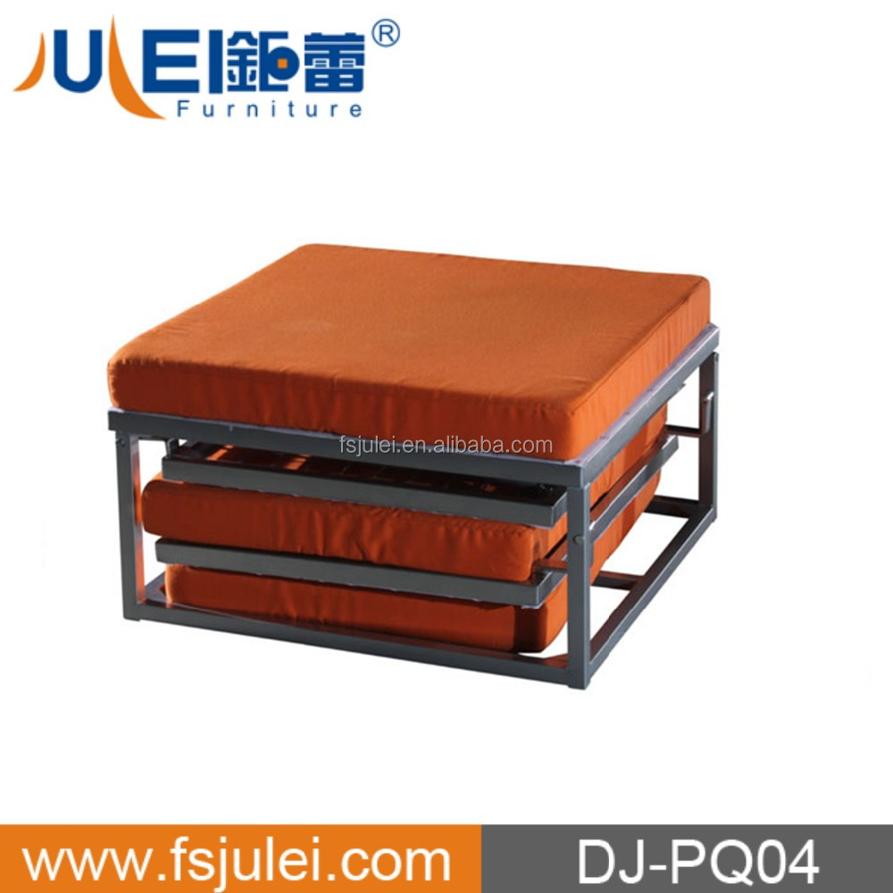 simple operate steel mattress folding bed india DJ-PQ04 in good sell
