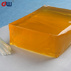 china supplier flexible packaging polyester hot melt adhesive for labels
