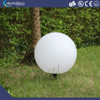 Photosensitive automatic-rechargeable and automatic lighting garden decoration inside solar panel led glow balls