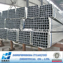 GI square tube & hollow section & rectangular tube