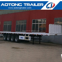 4 axle flatbed container trailers, 44ft 45ft container trailer