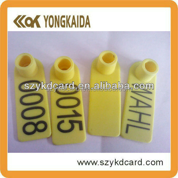 Factory Direct Sale Contactless RFID Animal Identification Cow Ear Tag