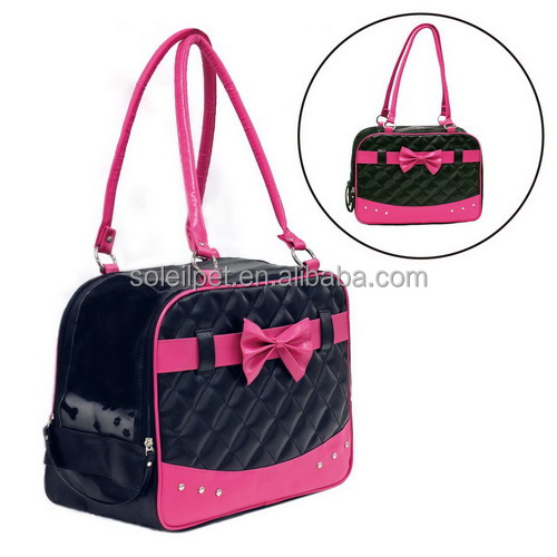 Best Selling Fashion PU Leather Dog Bag Carrier For Wholesale