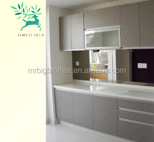 China factory supply popular modular shakerwooden kitchen cabinet