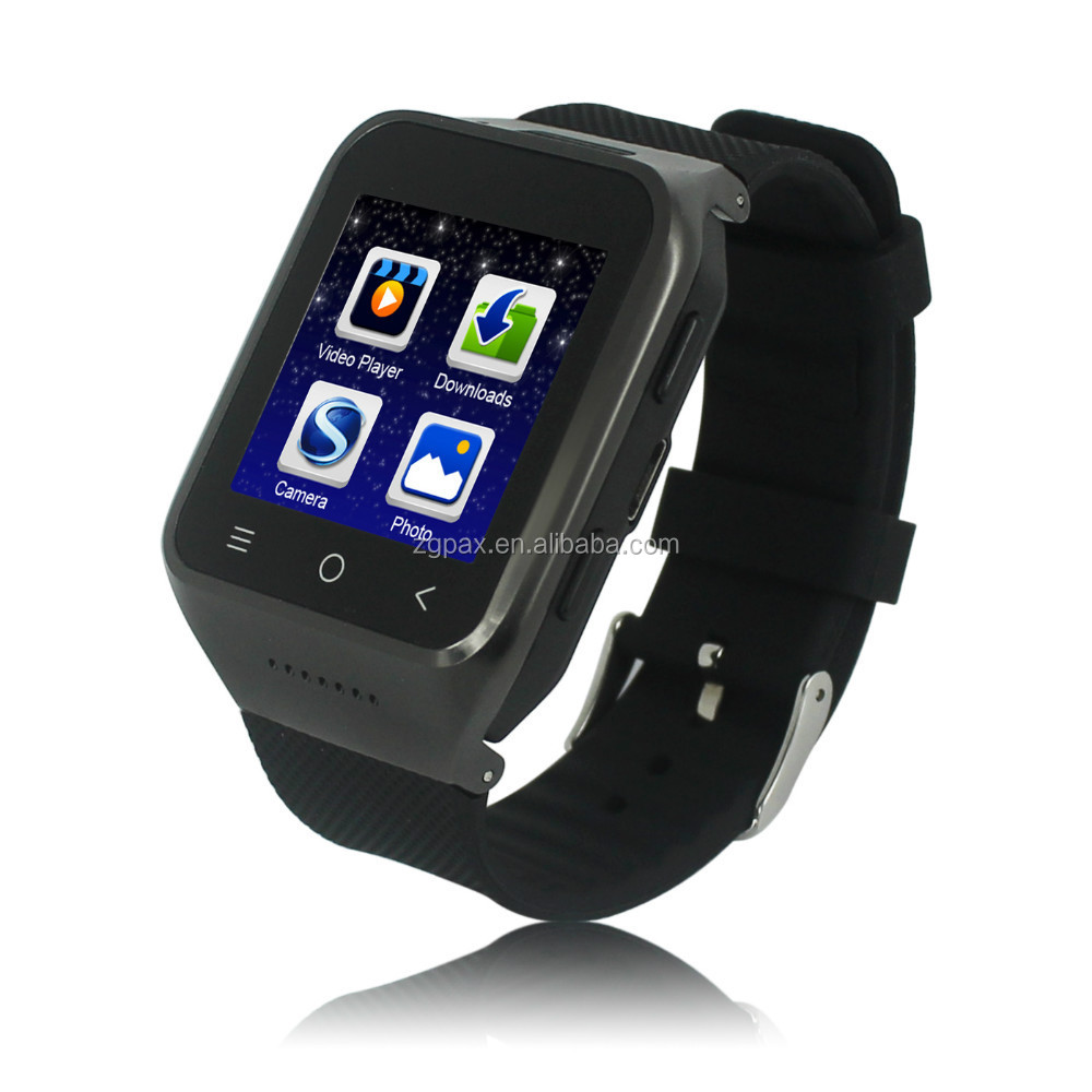 S8 2014 New 1.54 inch Android 4.4 Watch Phone Dual Core GPS 5MP Mobile Phone Watch Watch