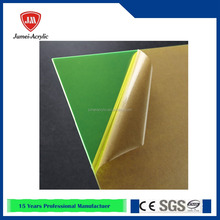 Low price top sell green color acrylic plexiglass sheet
