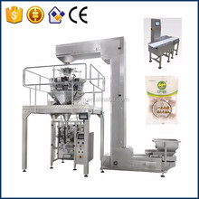 Beef Ball Pouch Vertical Packing Filling Machine with Weigher Check